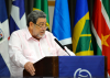 Prime Minister Dr. Ralph Gonsalves delivers the feature address